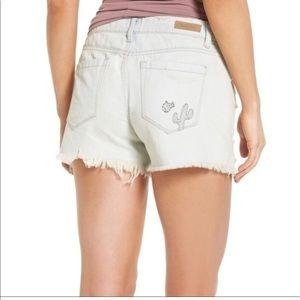 NWT Blank NYC Tomboy Distressed Denim Shorts